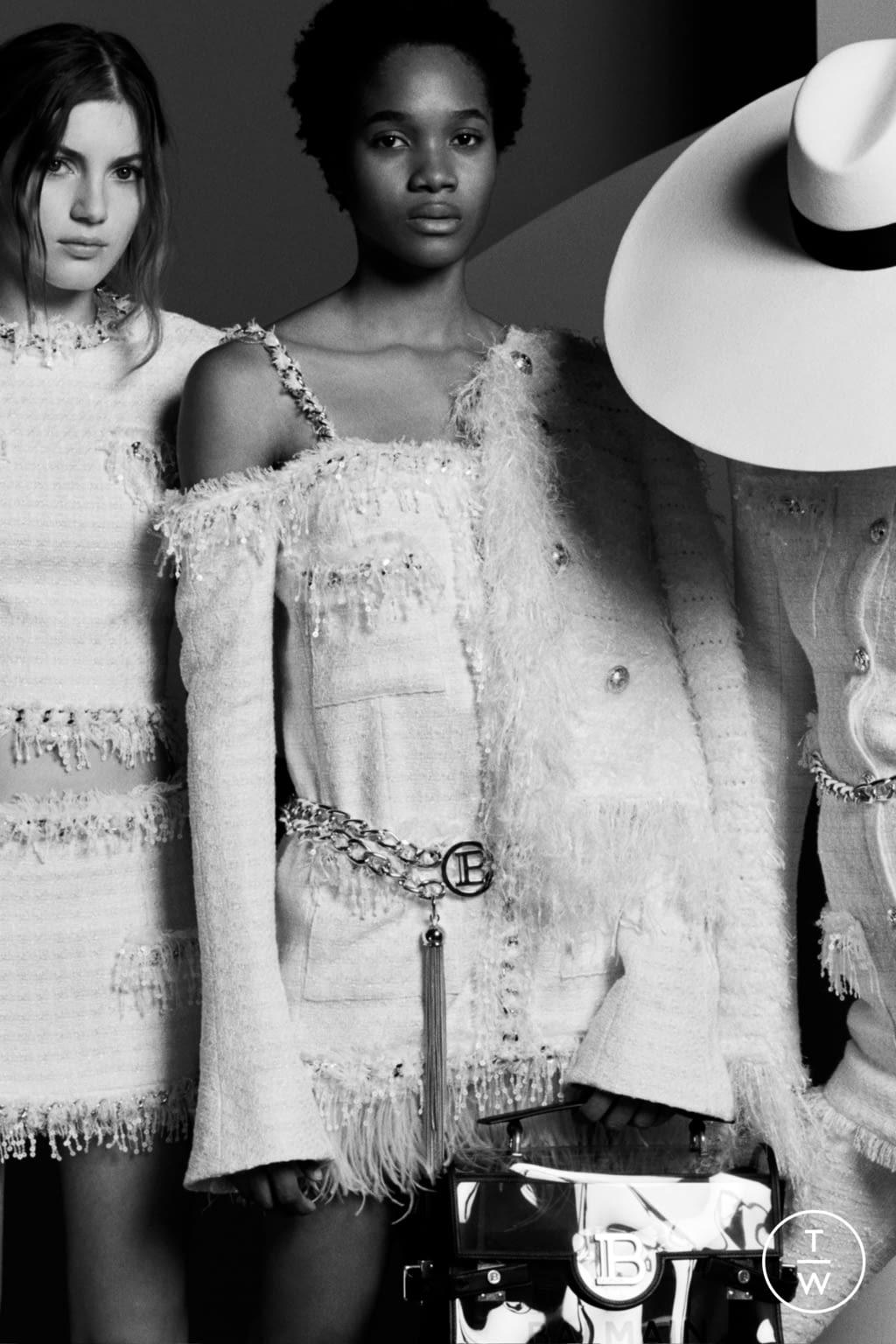 Fashion Week Paris Resort 2020 look 99 from the Balmain collection womenswear