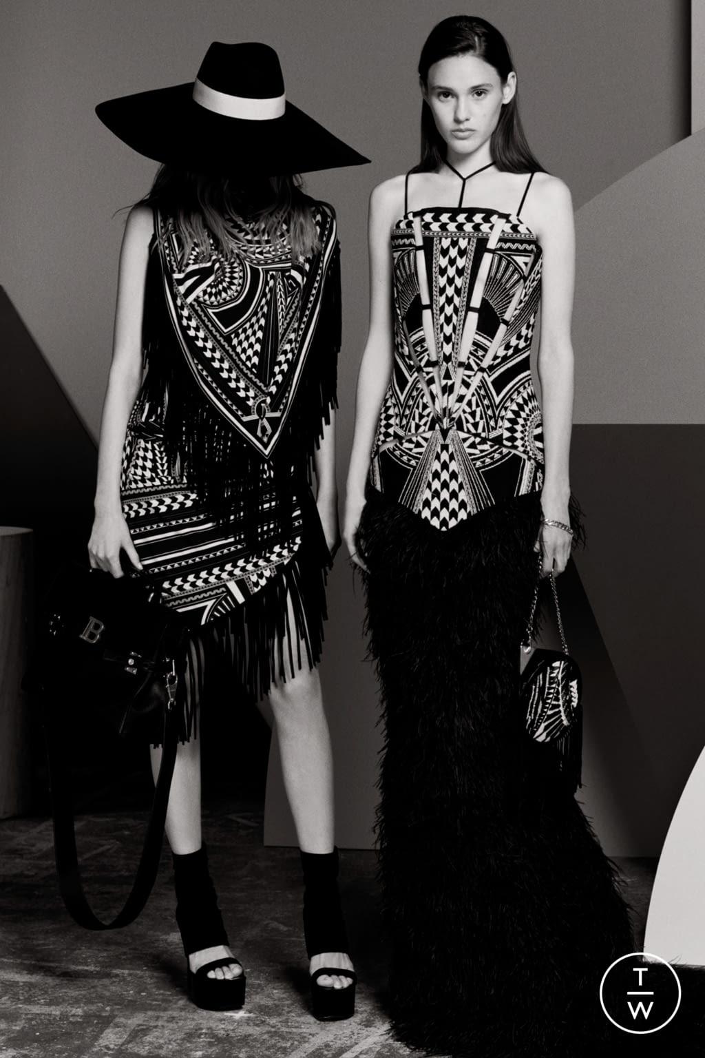 Fashion Week Paris Resort 2020 look 104 from the Balmain collection womenswear