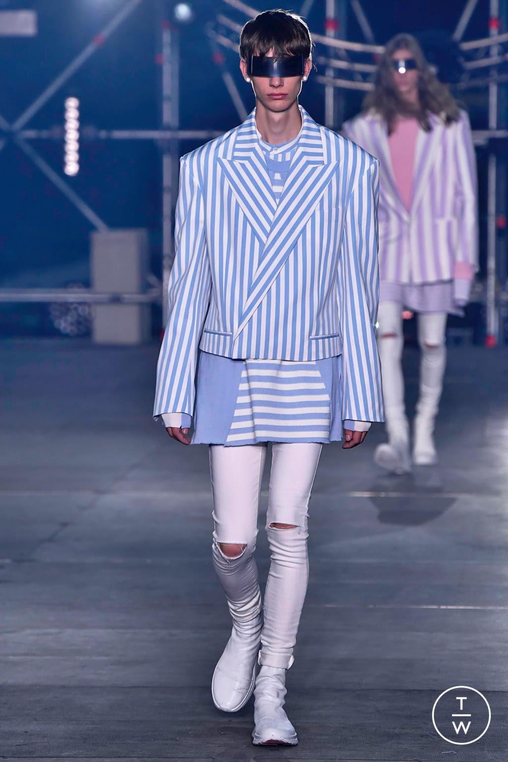 Fashion Week Paris Spring/Summer 2020 look 41 from the Balmain collection menswear