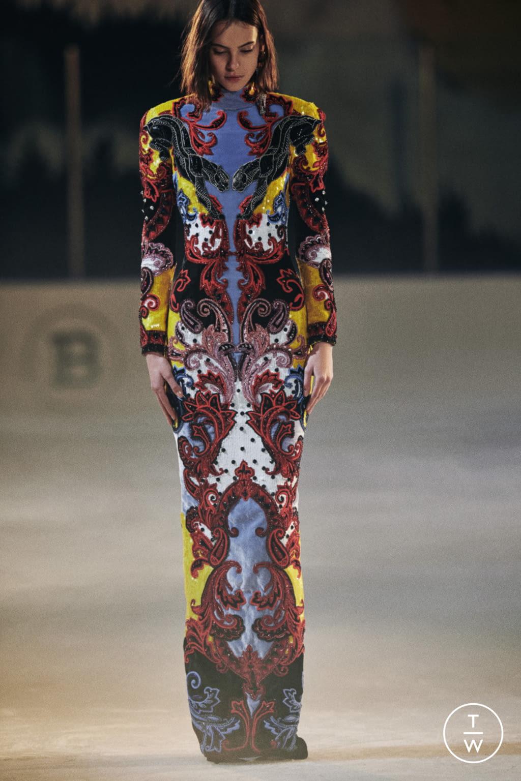 Fashion Week Paris Pre-Fall 2020 look 20 de la collection Balmain womenswear