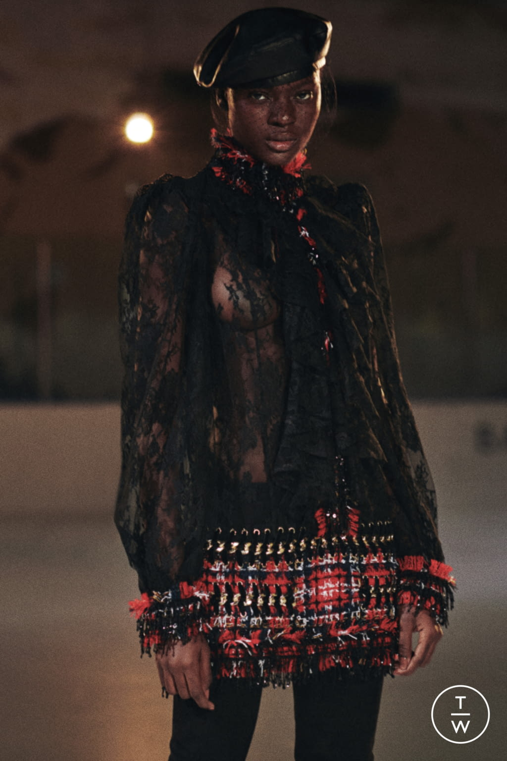 Fashion Week Paris Pre-Fall 2020 look 3 from the Balmain collection womenswear