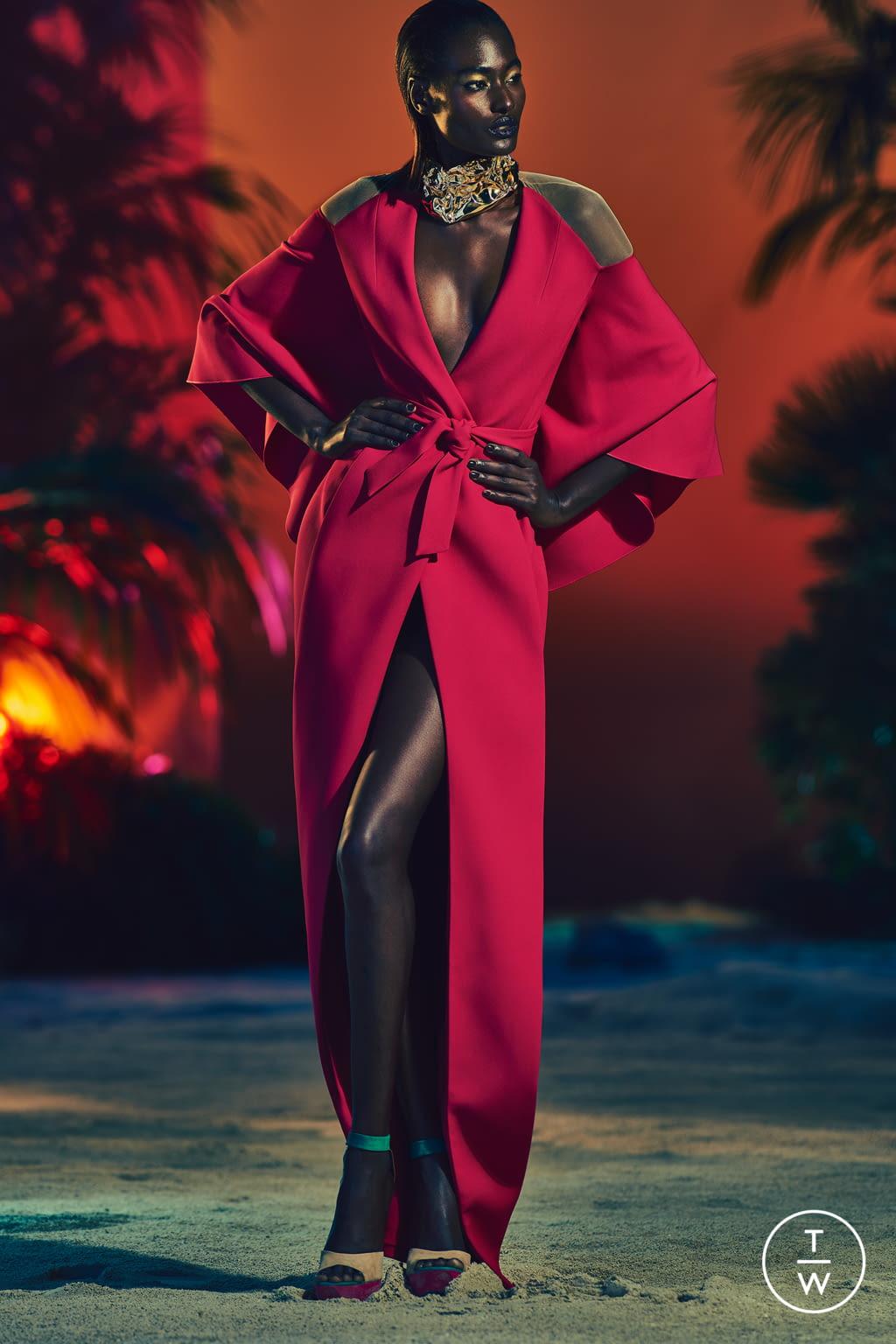 Fashion Week Paris Resort 2017 look 23 from the Balmain collection womenswear