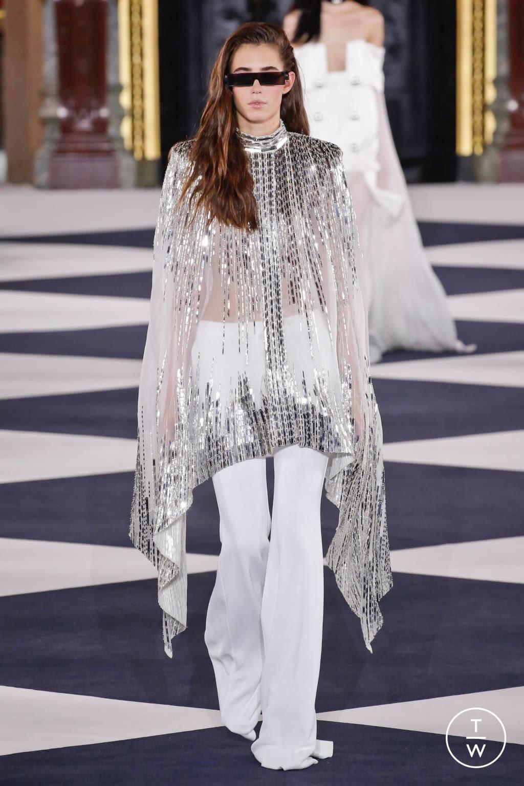 Fashion Week Paris Spring/Summer 2020 look 86 from the Balmain collection womenswear