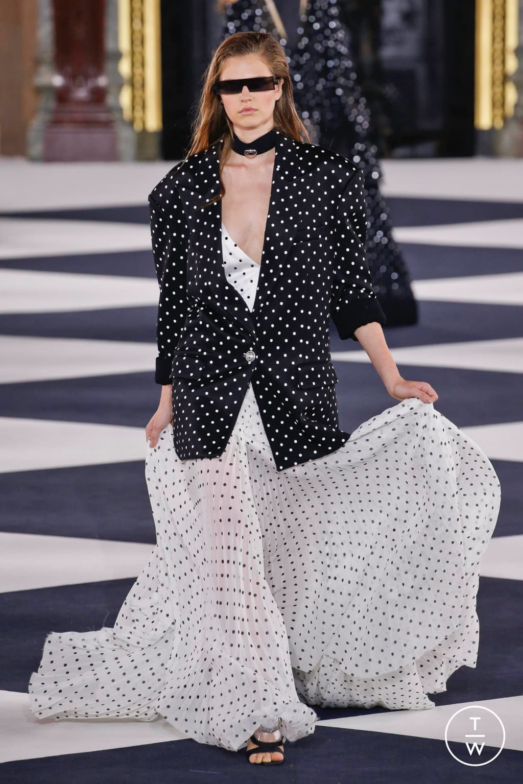 Fashion Week Paris Spring/Summer 2020 look 88 from the Balmain collection 女装