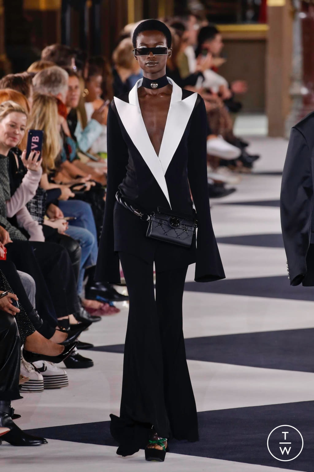 Fashion Week Paris Spring/Summer 2020 look 108 from the Balmain collection womenswear