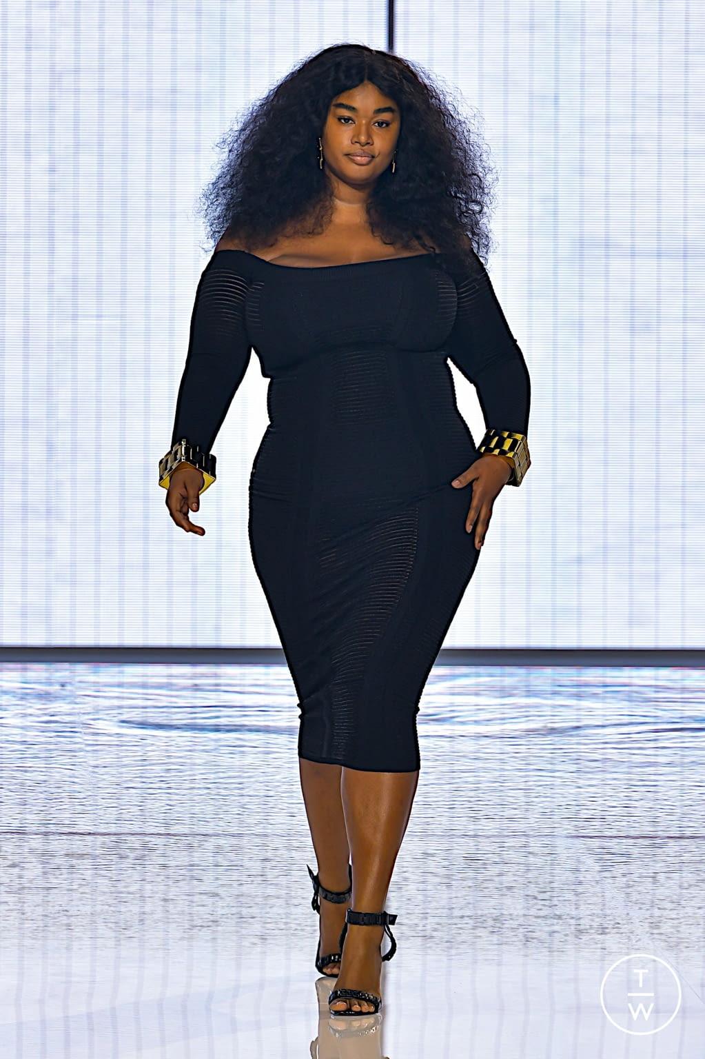Fashion Week Paris Spring/Summer 2022 look 9 from the Balmain collection womenswear
