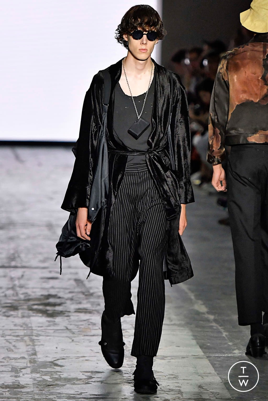 Fashion Week Milan Spring/Summer 2020 look 9 from the Bed JW Ford collection menswear