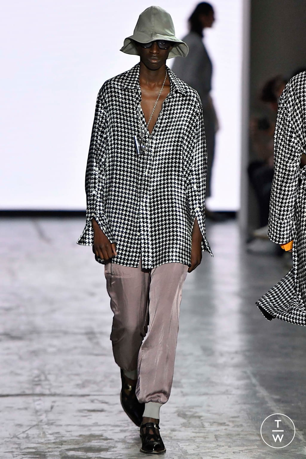 Fashion Week Milan Spring/Summer 2020 look 14 from the Bed JW Ford collection menswear