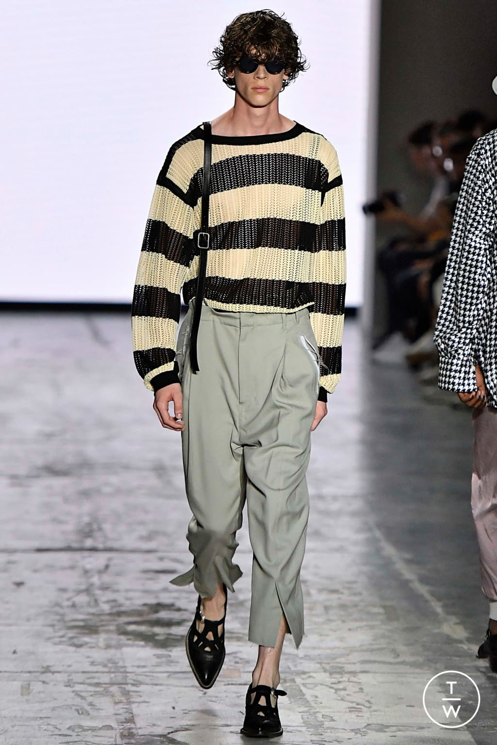 Fashion Week Milan Spring/Summer 2020 look 15 from the Bed JW Ford collection menswear