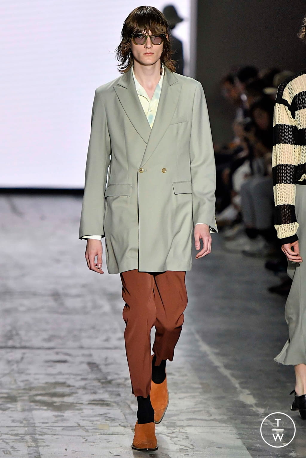 Fashion Week Milan Spring/Summer 2020 look 16 from the Bed JW Ford collection menswear