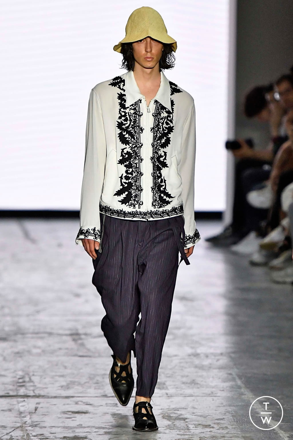 Fashion Week Milan Spring/Summer 2020 look 20 from the Bed JW Ford collection menswear