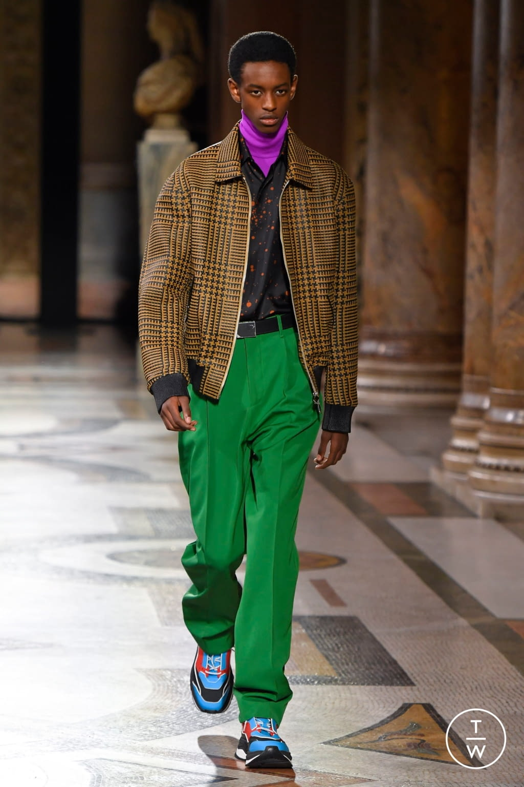 Fashion Week Paris Fall/Winter 2020 look 20 from the Berluti collection menswear
