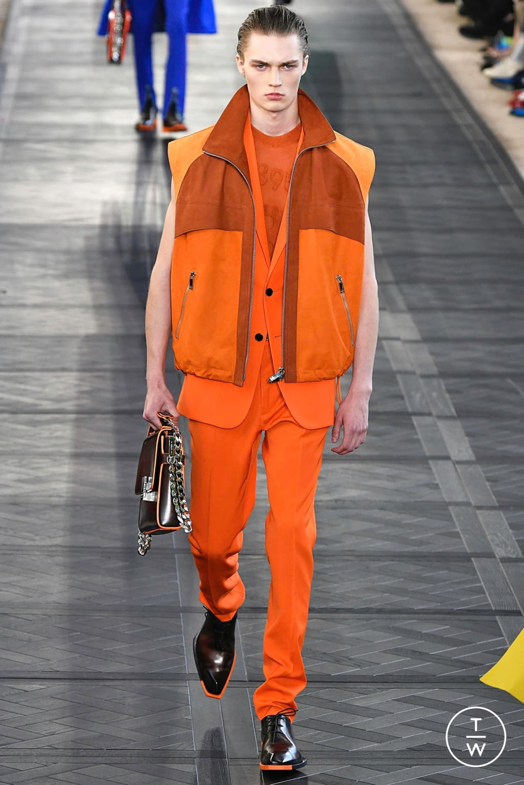 Fashion Week Paris Spring/Summer 2020 look 34 from the Berluti collection menswear