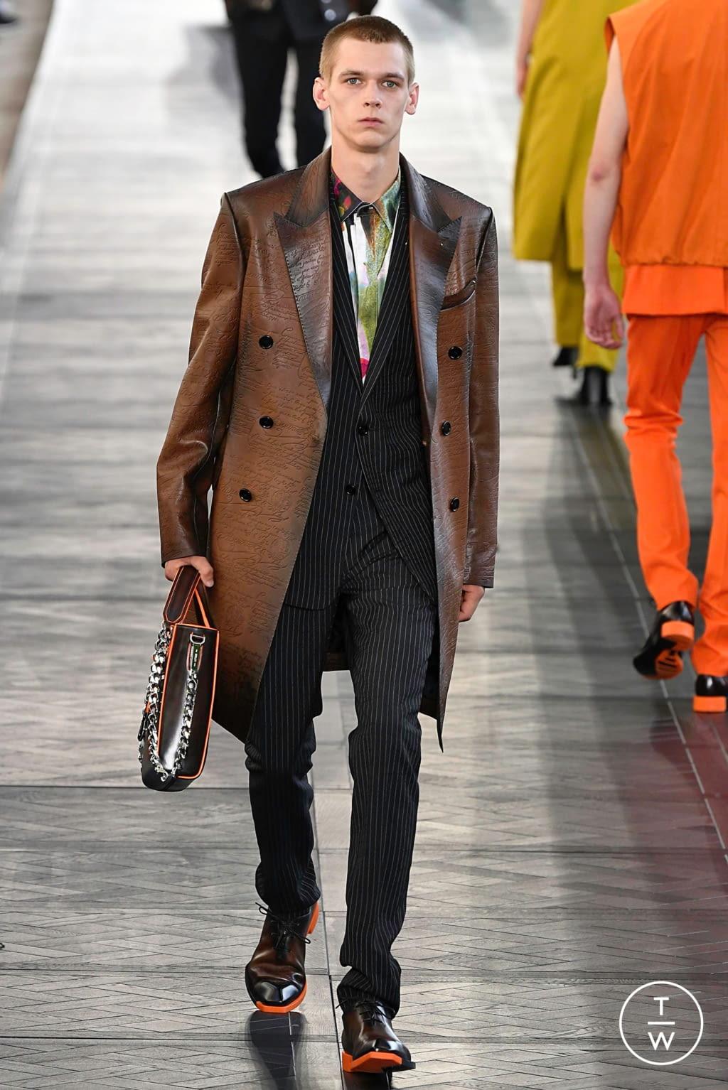 Fashion Week Paris Spring/Summer 2020 look 36 de la collection Berluti menswear