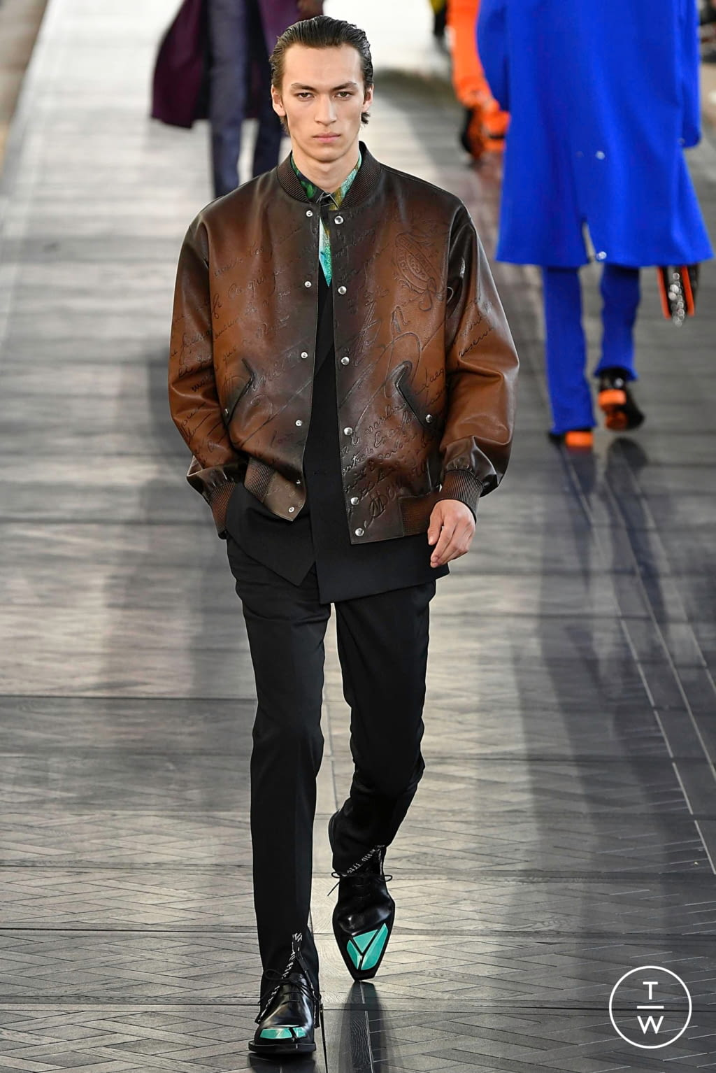 Fashion Week Paris Spring/Summer 2020 look 37 from the Berluti collection menswear