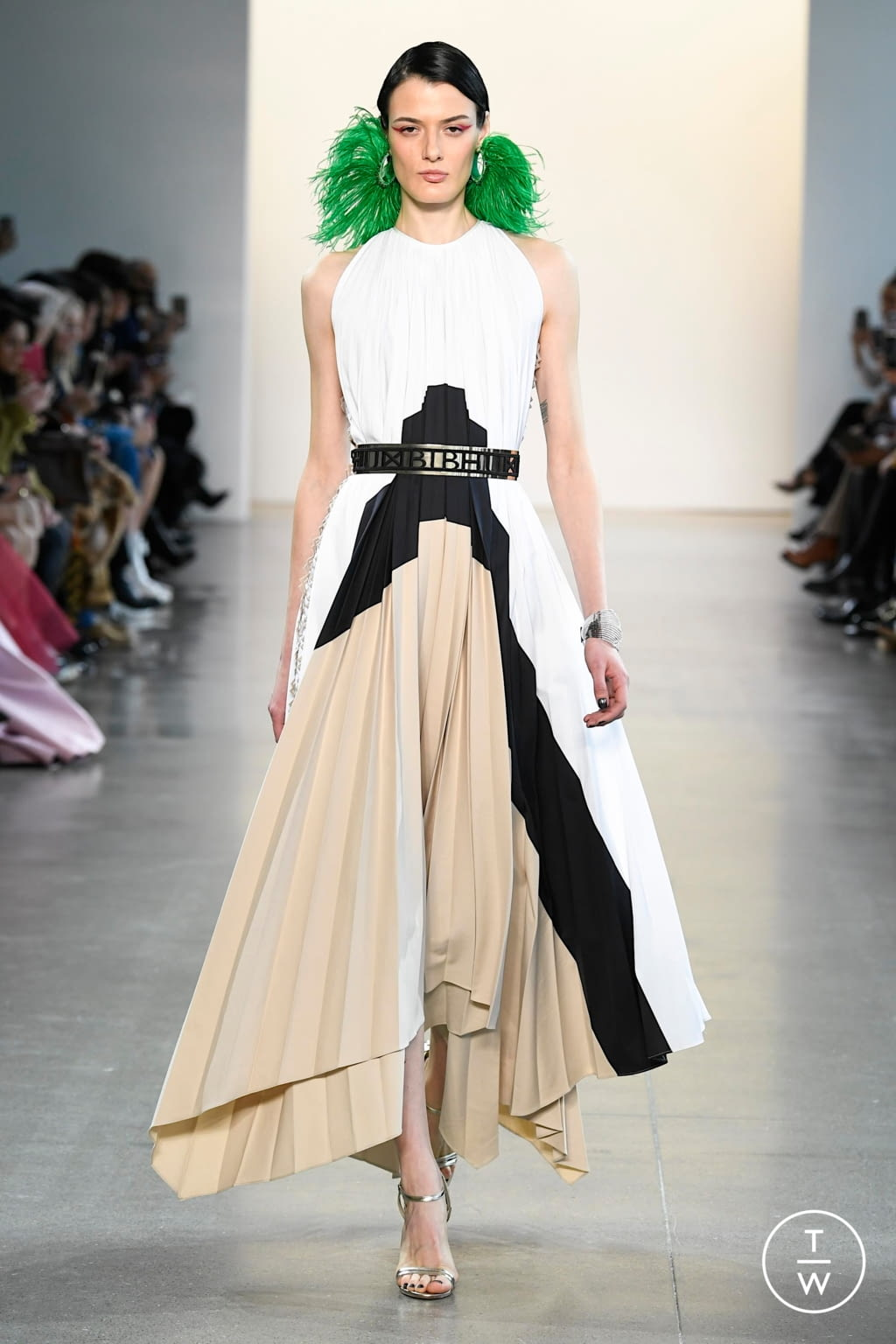 Fashion Week New York Fall/Winter 2020 look 1 from the Bibhu Mohapatra collection womenswear