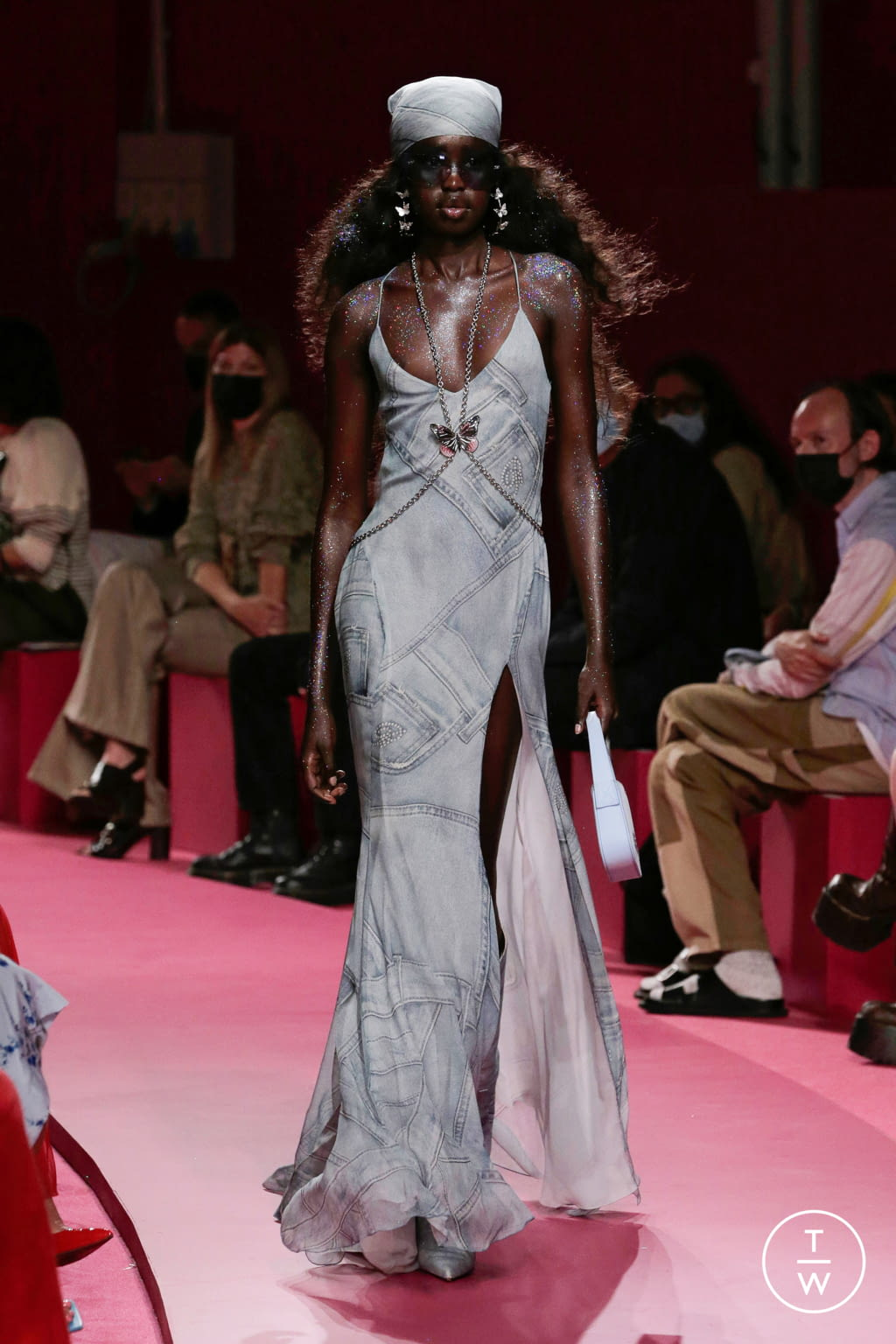 Fashion Week Milan Spring/Summer 2022 look 1 from the Blumarine collection womenswear