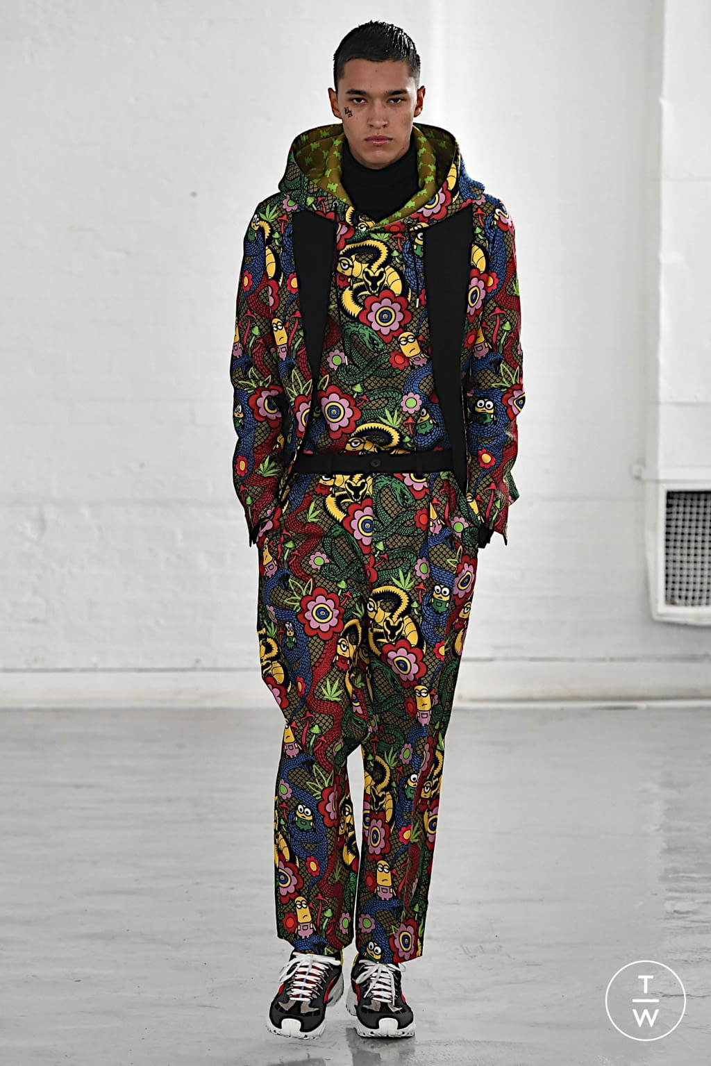 Fashion Week London Fall/Winter 2020 look 16 from the Bobby Abley collection 女装