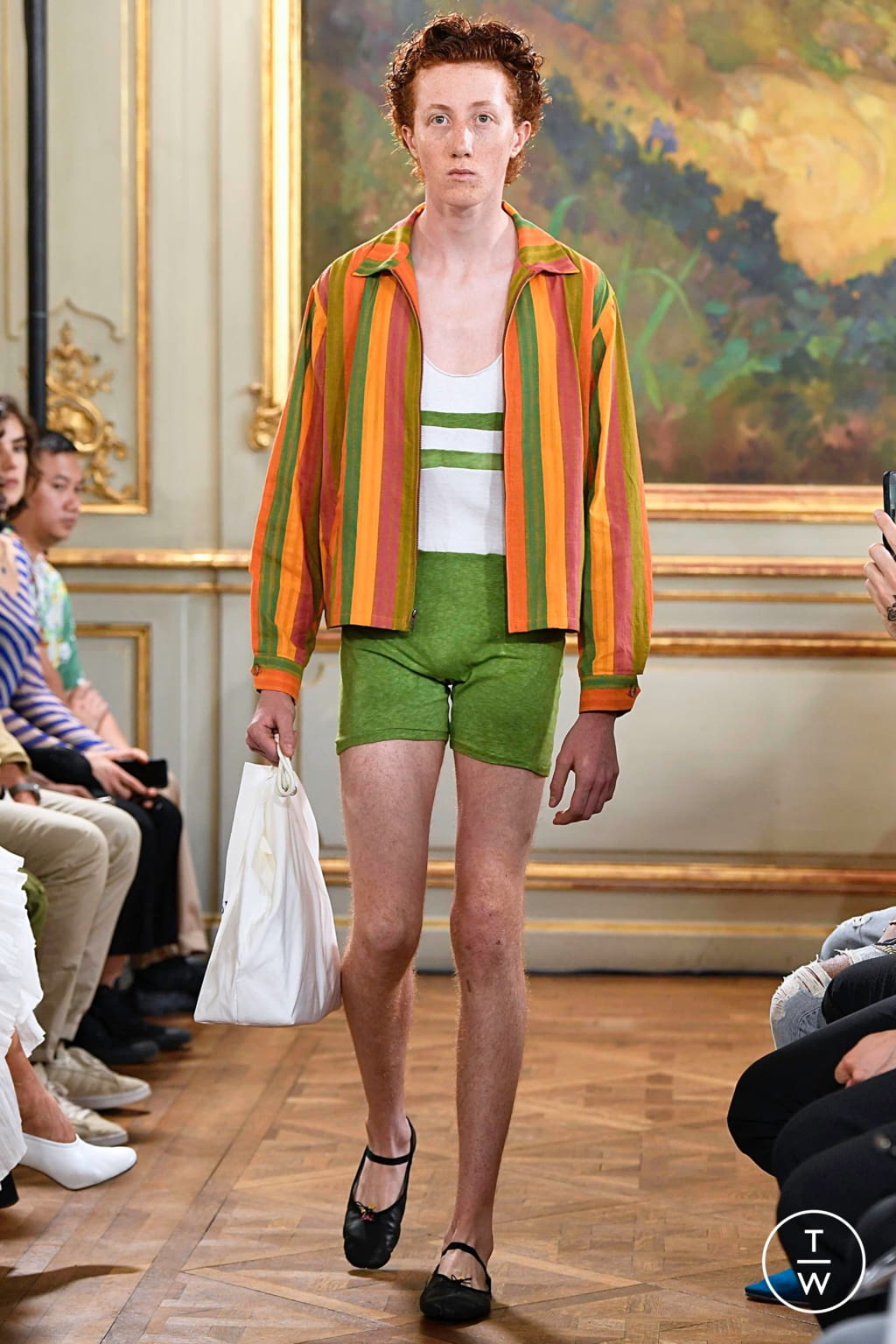 Fashion Week Paris Spring/Summer 2020 look 20 from the Bode collection menswear