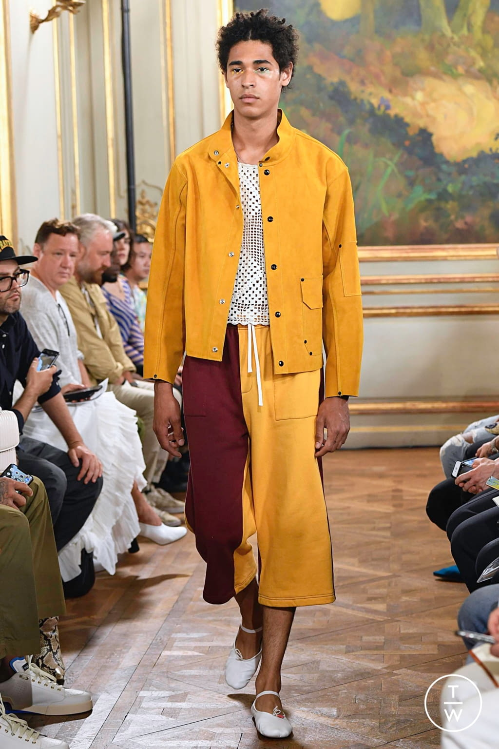 Fashion Week Paris Spring/Summer 2020 look 22 from the Bode collection menswear