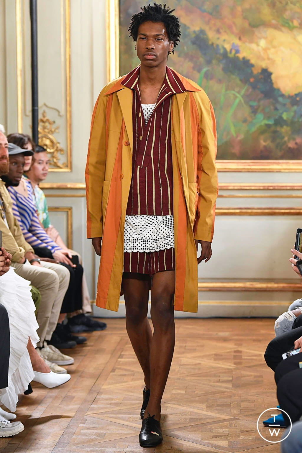 Fashion Week Paris Spring/Summer 2020 look 24 from the Bode collection menswear