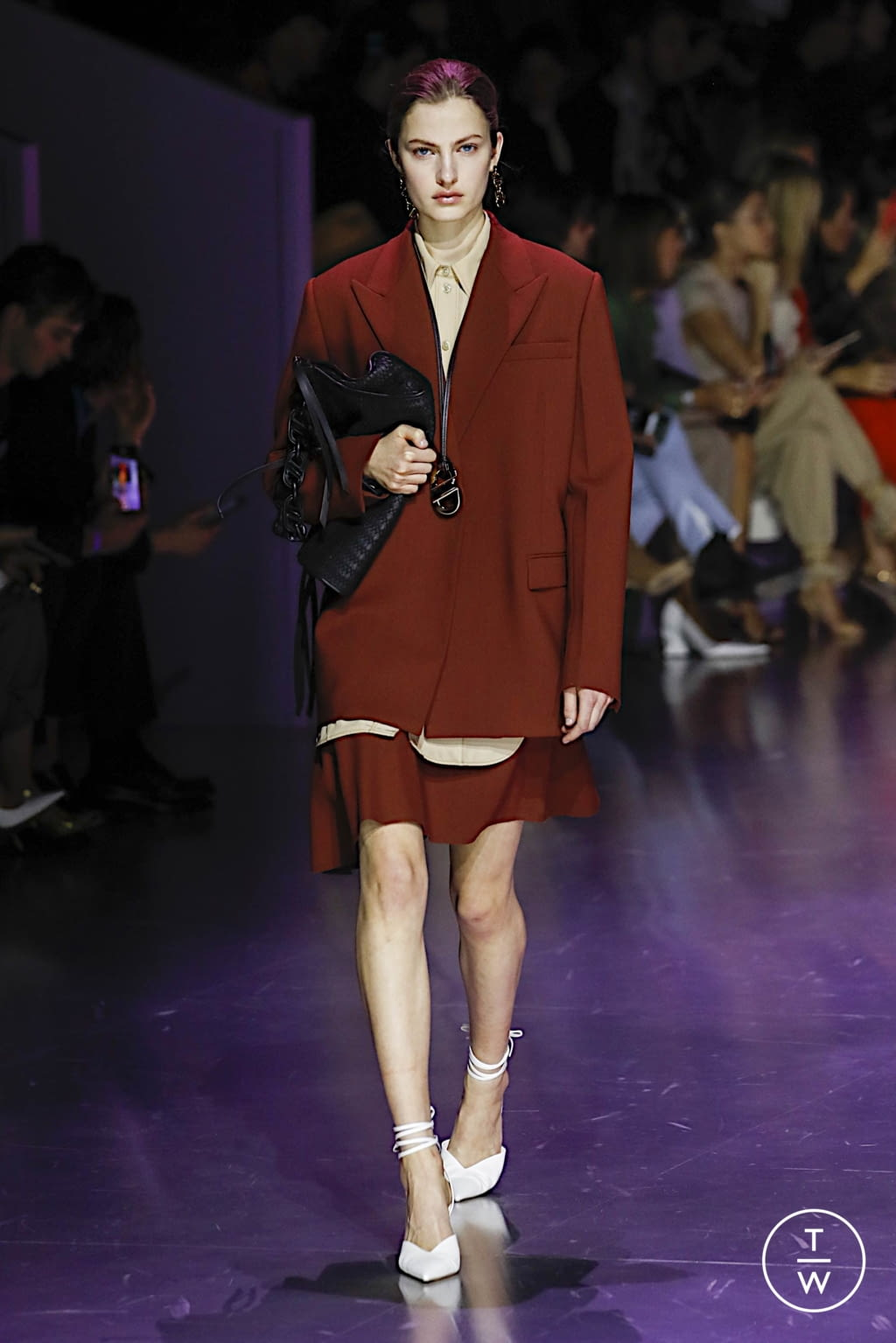 Fashion Week Milan Fall/Winter 2020 look 27 from the Boss collection womenswear