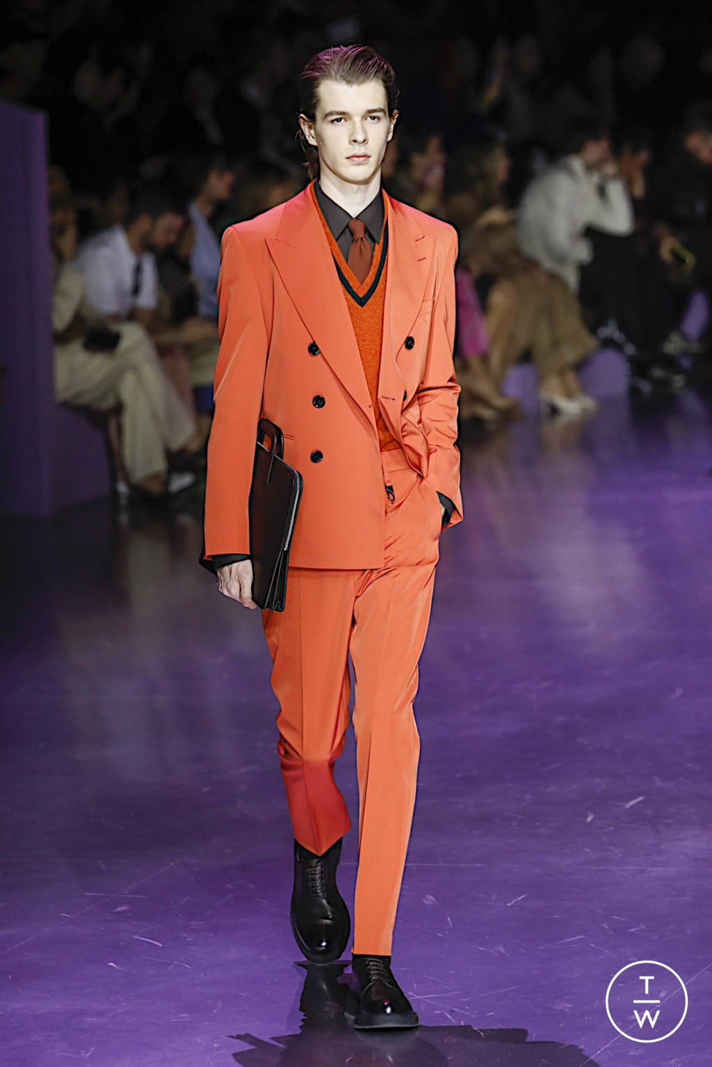 Fashion Week Milan Fall/Winter 2020 look 30 from the Boss collection womenswear
