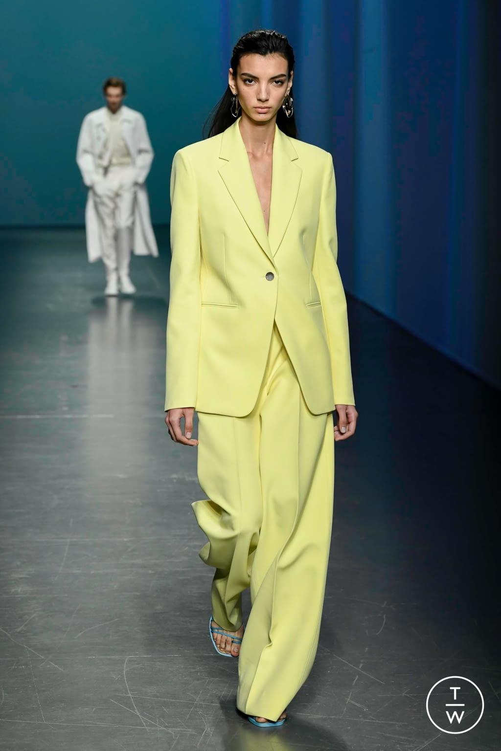 Fashion Week Milan Spring/Summer 2020 look 8 from the Boss collection womenswear