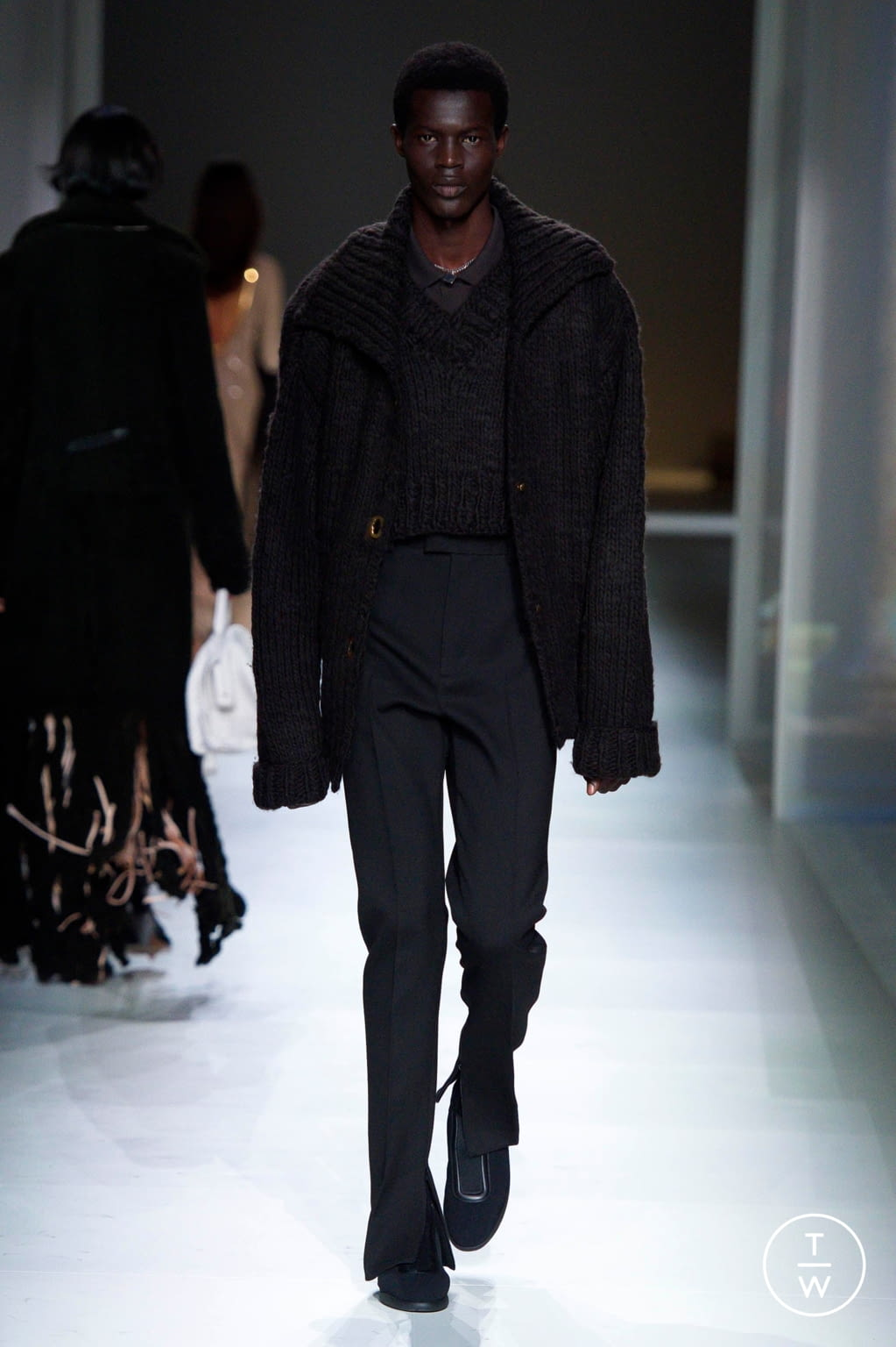 Fashion Week Milan Fall/Winter 2020 look 52 from the Bottega Veneta collection womenswear