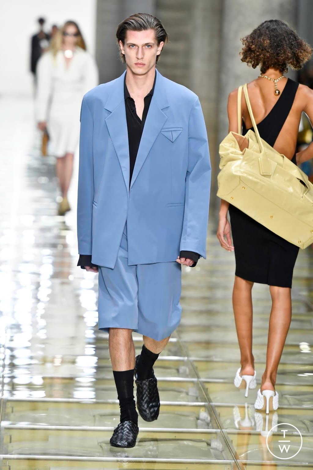 Fashion Week Milan Spring/Summer 2020 look 6 from the Bottega Veneta collection menswear