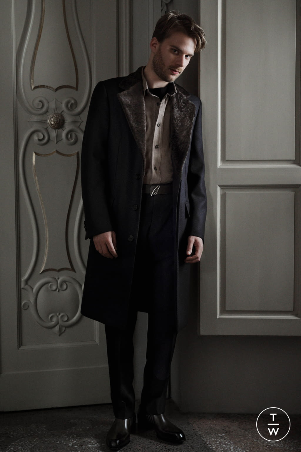 Fashion Week Florence Fall/Winter 2020 look 13 de la collection Brioni menswear