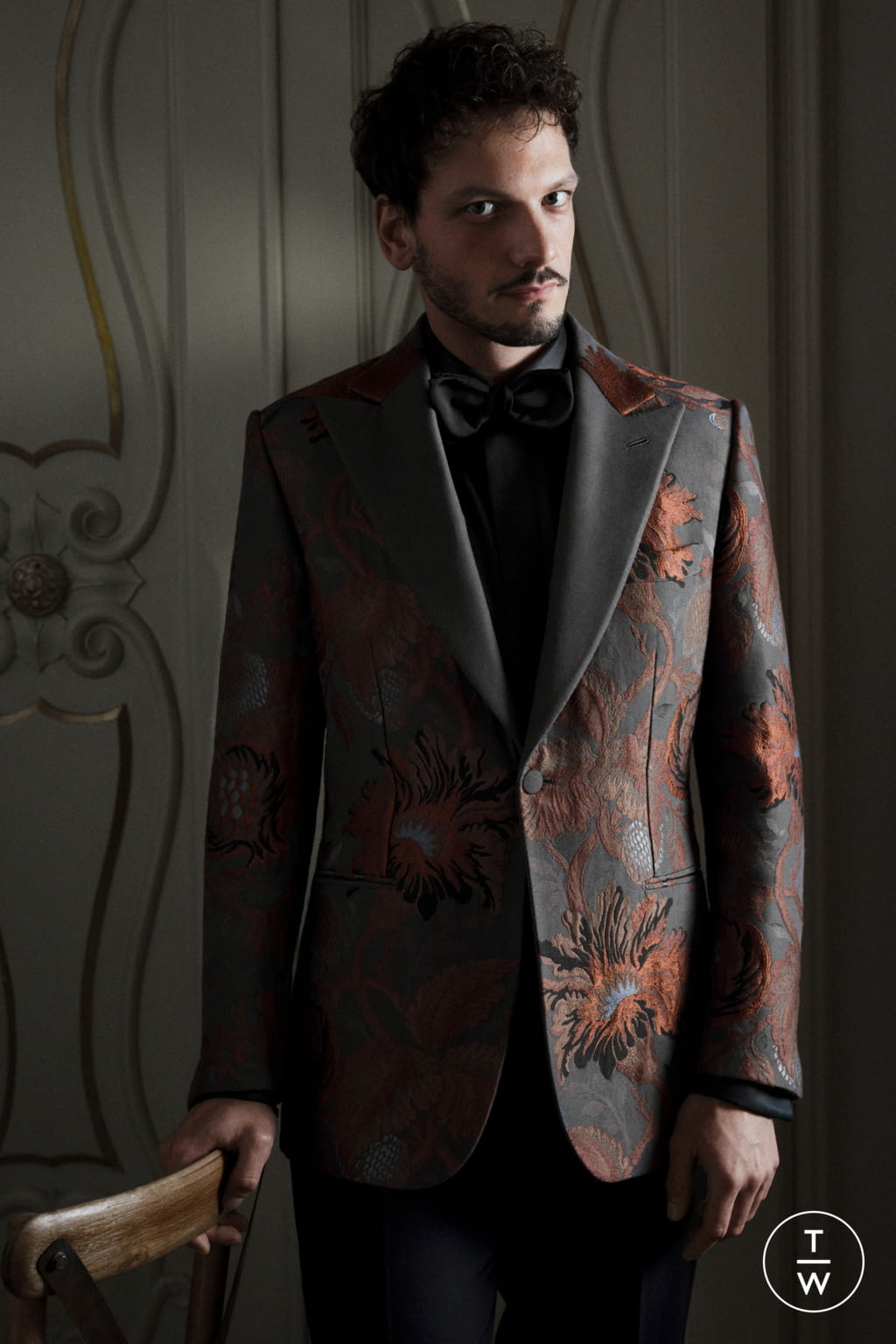 Fashion Week Florence Fall/Winter 2020 look 18 de la collection Brioni menswear