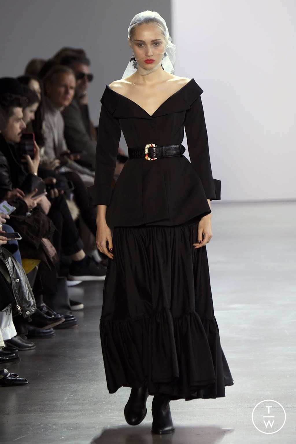 Fashion Week New York Fall/Winter 2020 look 2 from the Brock Collection collection womenswear