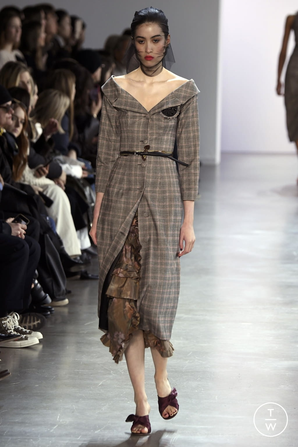 Fashion Week New York Fall/Winter 2020 look 4 from the Brock Collection collection womenswear