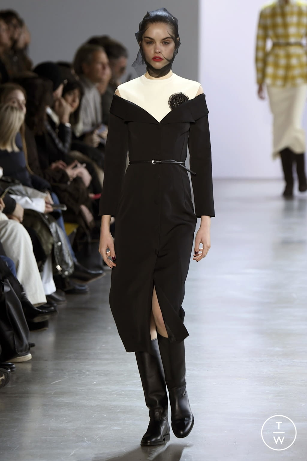 Fashion Week New York Fall/Winter 2020 look 8 from the Brock Collection collection womenswear
