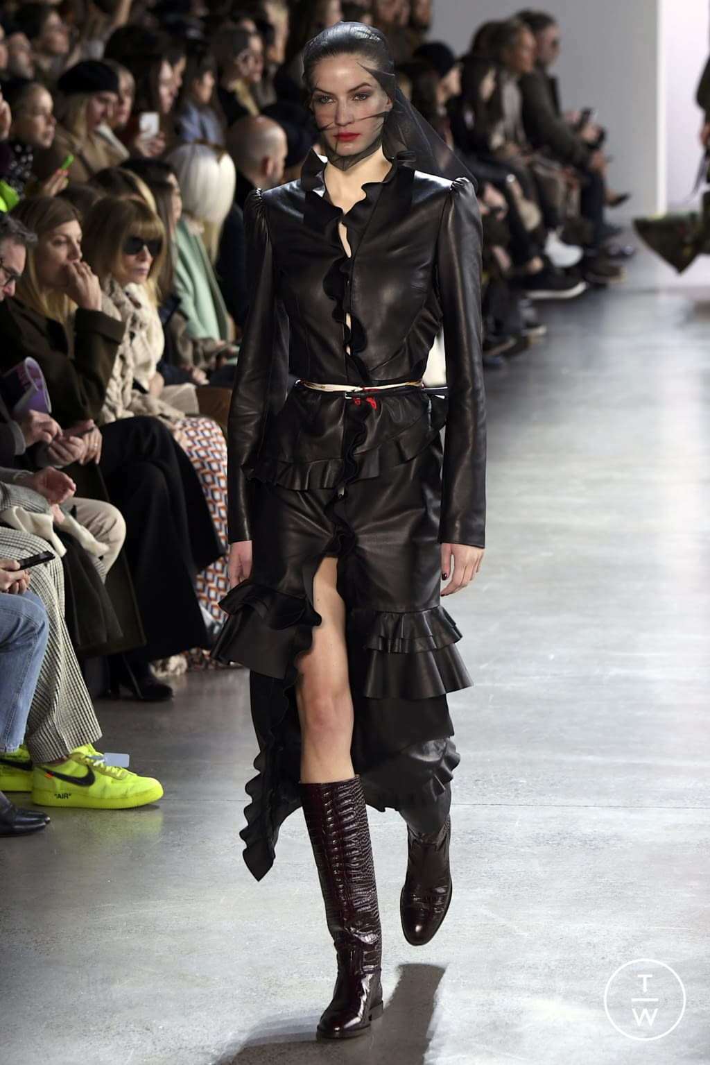 Fashion Week New York Fall/Winter 2020 look 21 from the Brock Collection collection womenswear
