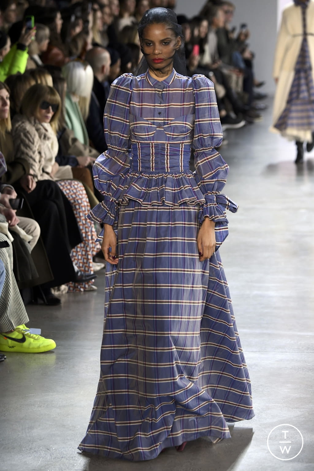 Fashion Week New York Fall/Winter 2020 look 17 from the Brock Collection collection womenswear