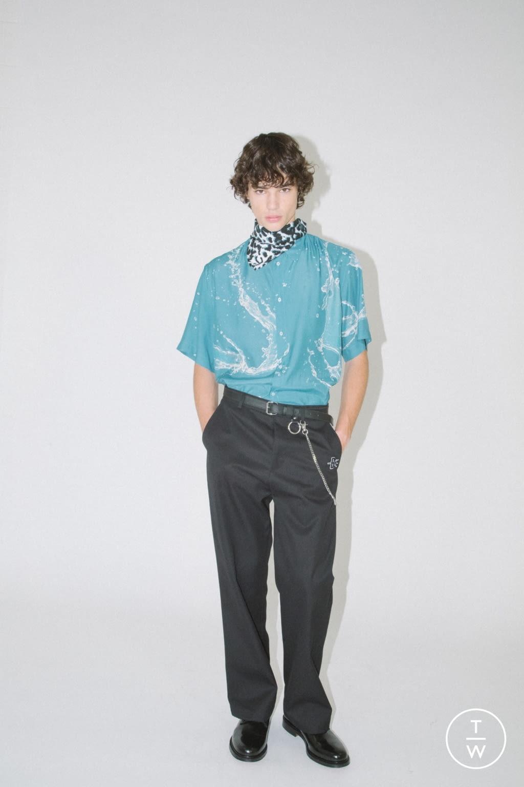Fashion Week Milan Spring/Summer 2020 look 17 de la collection Brognano menswear