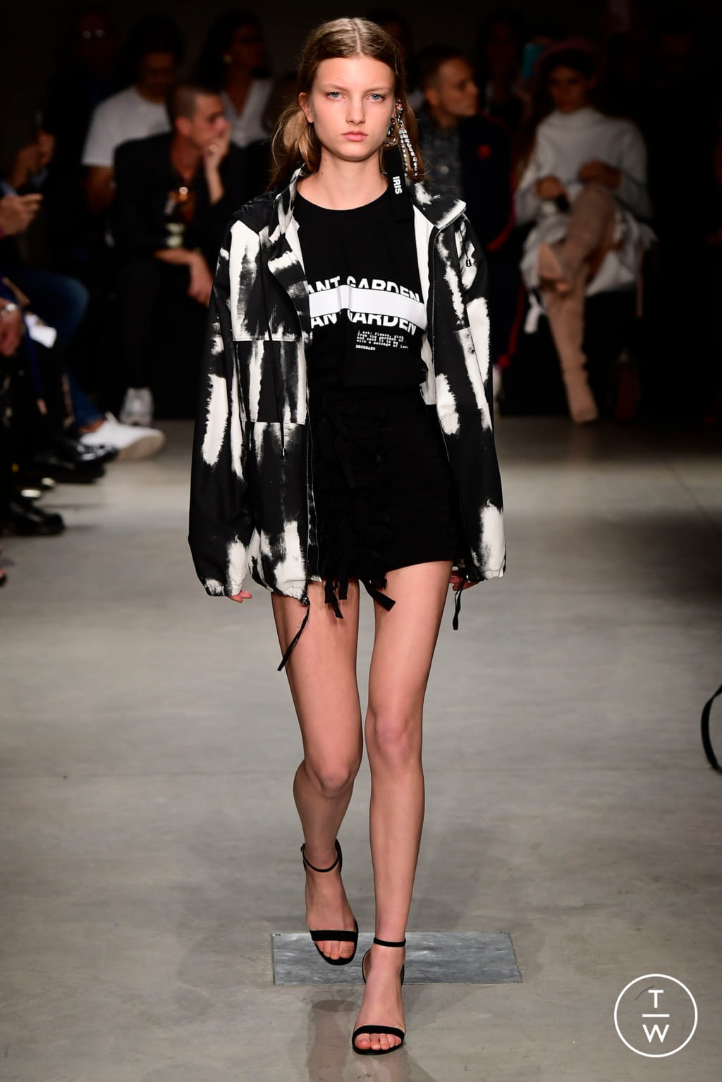 Fashion Week Milan Spring/Summer 2018 look 24 from the Brognano collection womenswear