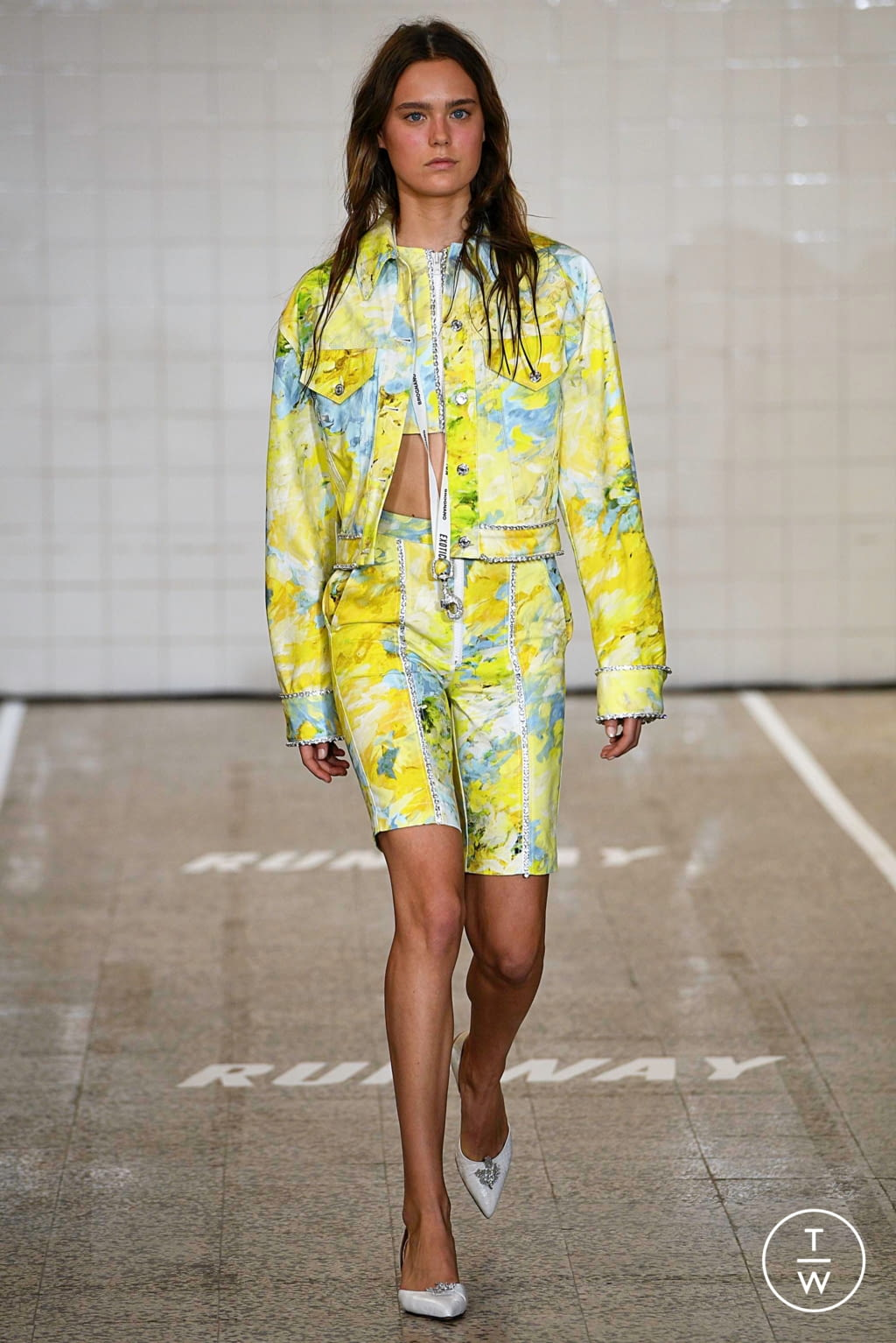 Fashion Week Milan Spring/Summer 2019 look 5 from the Brognano collection womenswear