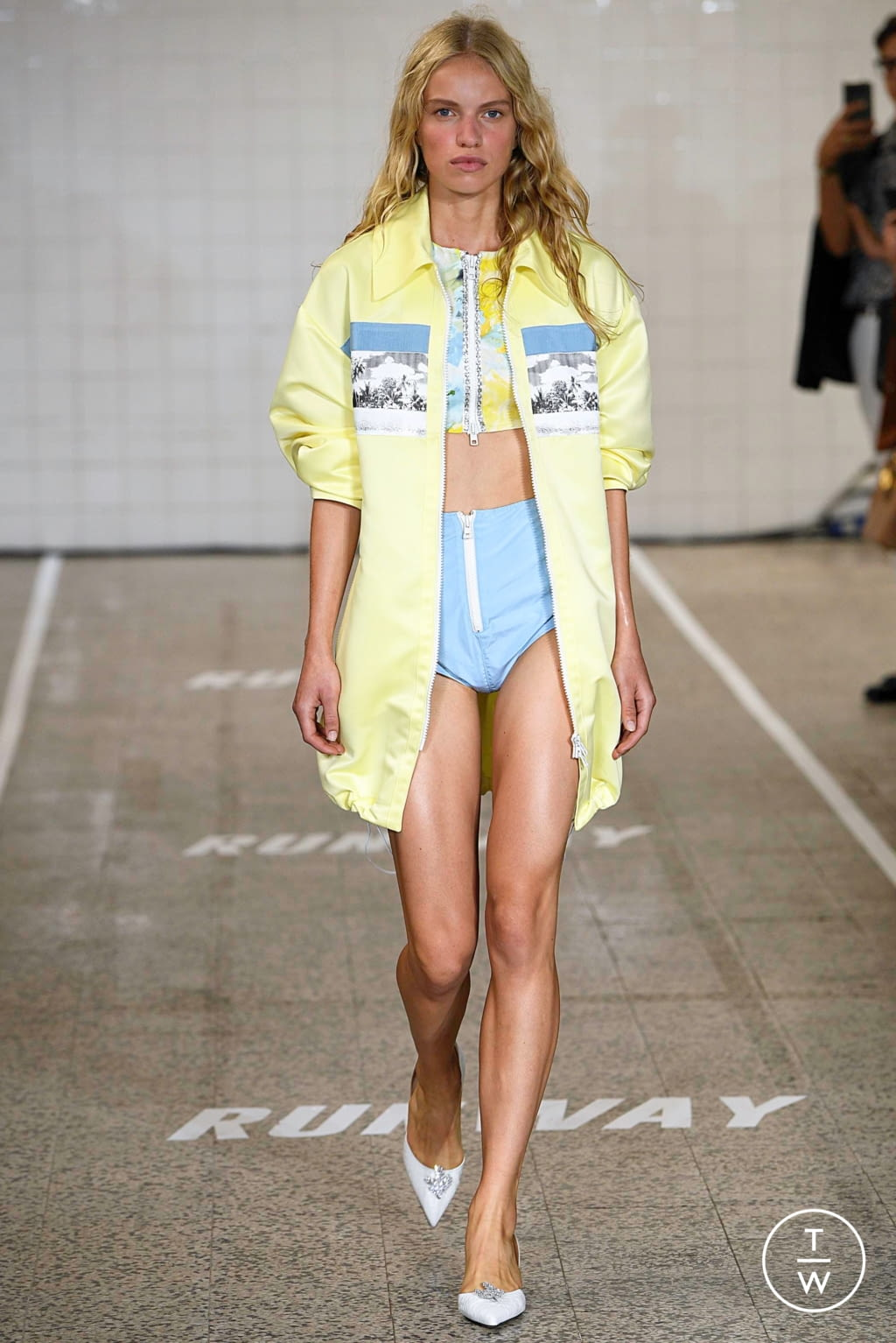 Fashion Week Milan Spring/Summer 2019 look 7 from the Brognano collection womenswear