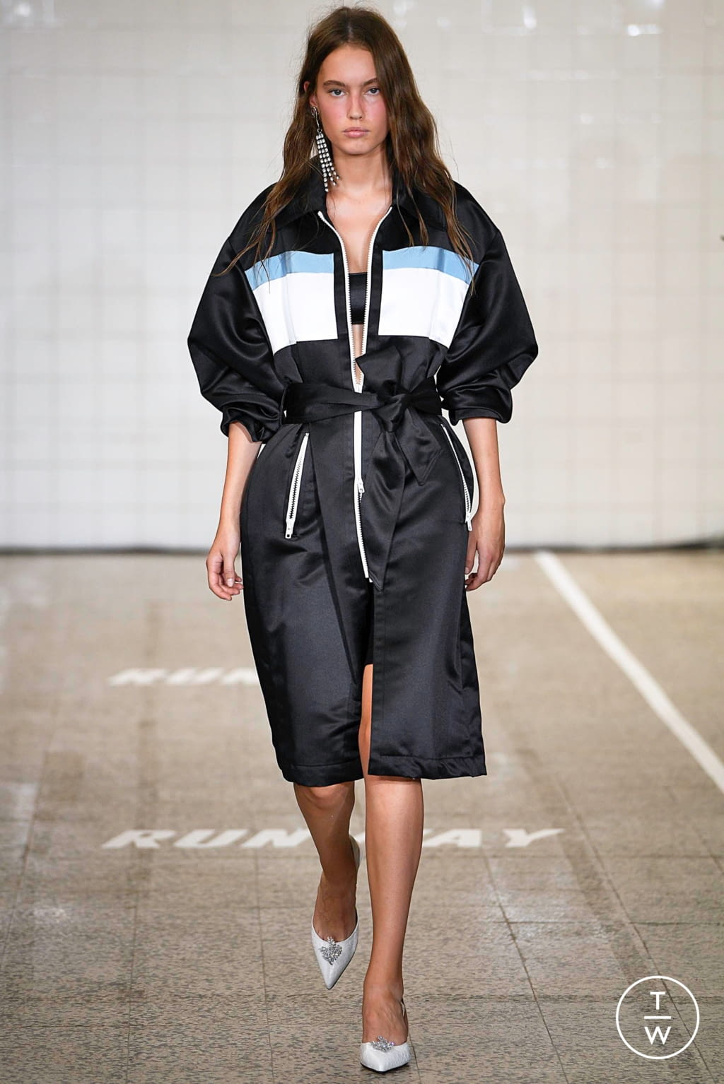 Fashion Week Milan Spring/Summer 2019 look 15 from the Brognano collection womenswear