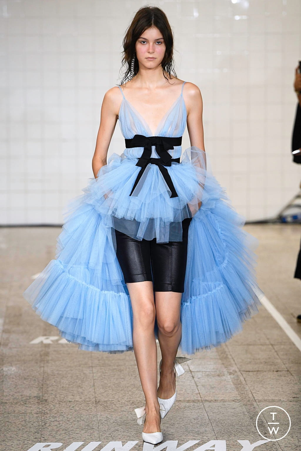 Fashion Week Milan Spring/Summer 2019 look 18 from the Brognano collection womenswear
