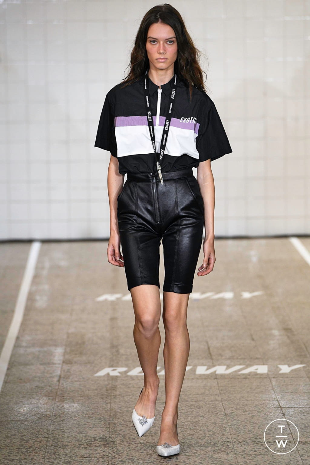 Fashion Week Milan Spring/Summer 2019 look 25 from the Brognano collection 女装