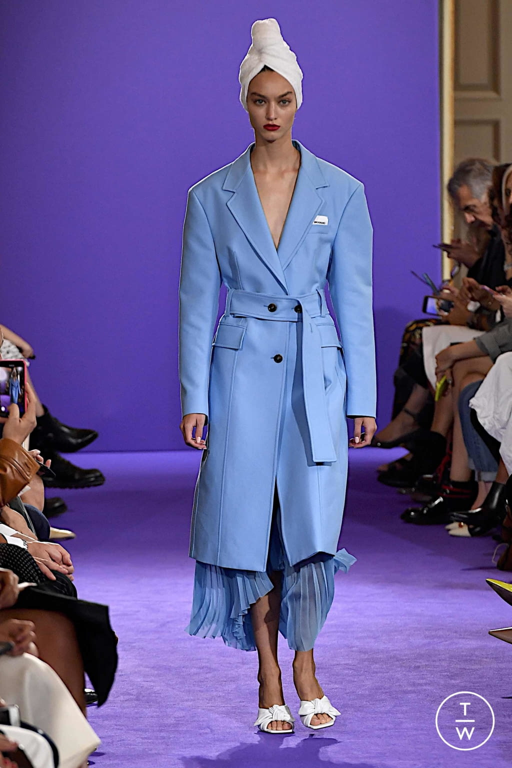 Fashion Week Milan Spring/Summer 2020 look 10 from the Brognano collection womenswear