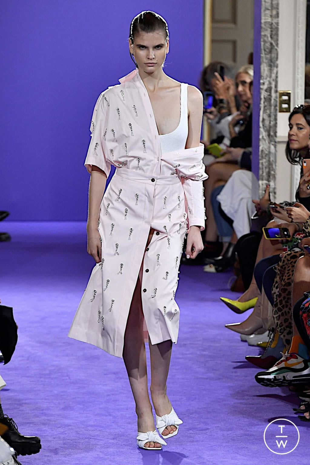 Fashion Week Milan Spring/Summer 2020 look 14 from the Brognano collection womenswear