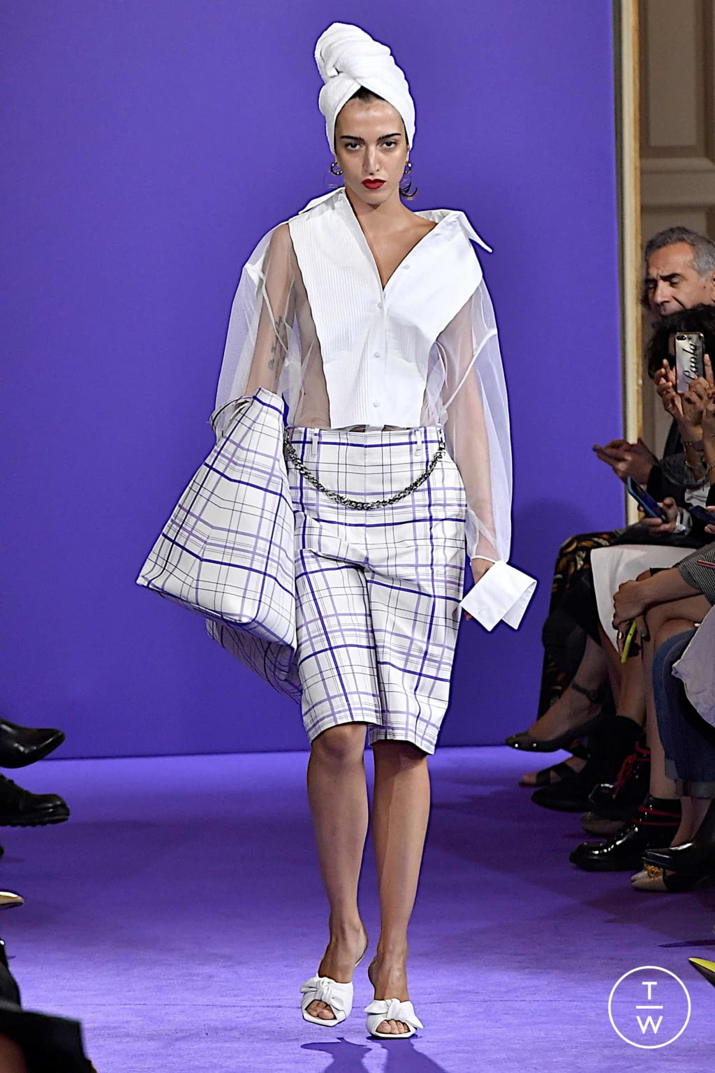 Fashion Week Milan Spring/Summer 2020 look 19 from the Brognano collection womenswear