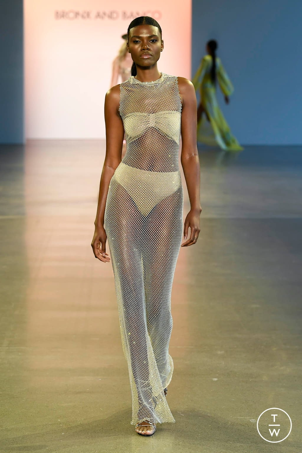 Fashion Week New York Spring/Summer 2020 look 49 from the Bronx & Banco collection womenswear