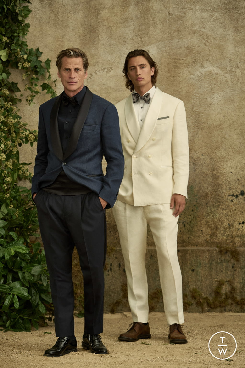 Fashion Week Milan Spring/Summer 2022 look 29 from the Brunello Cucinelli collection menswear