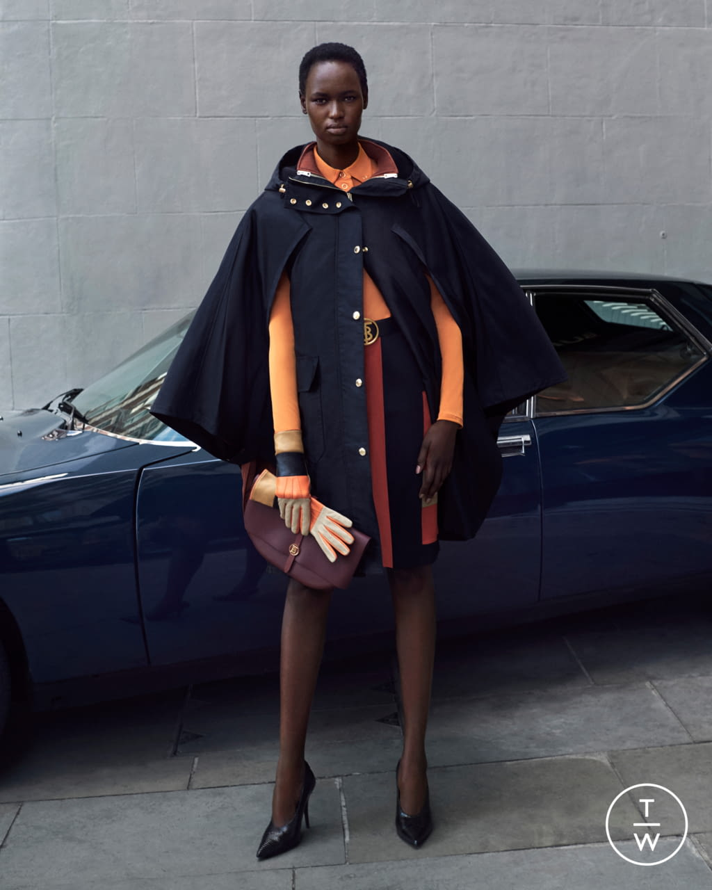 Fashion Week London Resort 2020 look 11 from the Burberry collection womenswear